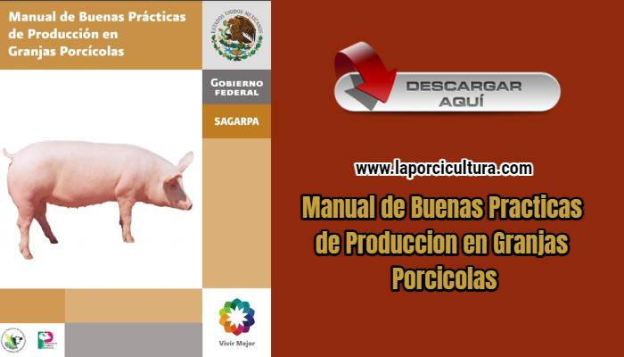 Manual de Buenas Practicas de Produccion en Granjas Porcicolas
